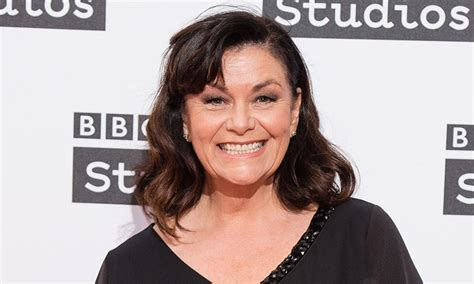 awn french dawn french looks sensational in striking new portrait for 60th birthday