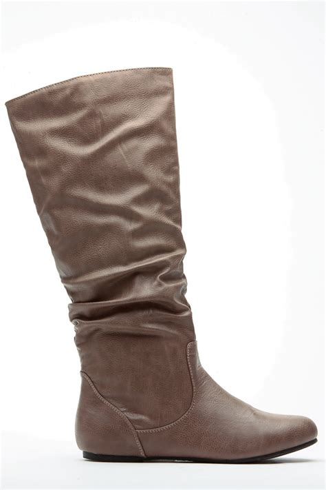 taupe color boots taupe go to slouch boot cicihot boots catalog s