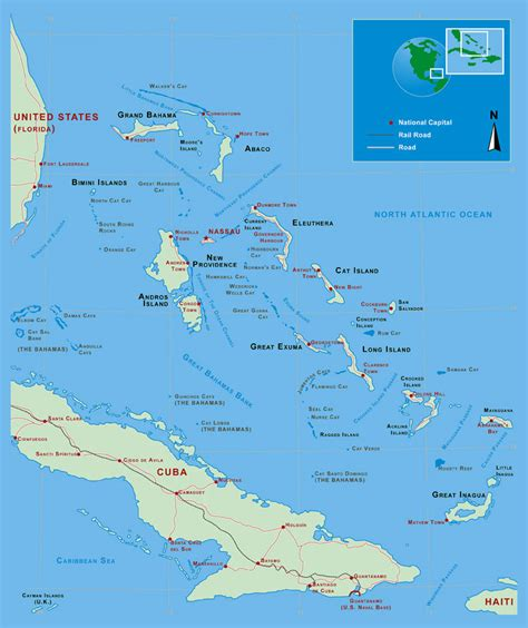 map usa and bahamas maps of bahamas map library maps of the world
