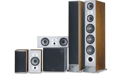 Polk Home Theater by Polk Audio Rti Series Home Theater Speaker System At