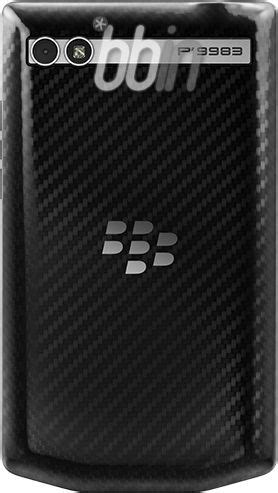 Lcd Bb 9983 Porsche Design P9983 specifications and images of the blackberry porsche design