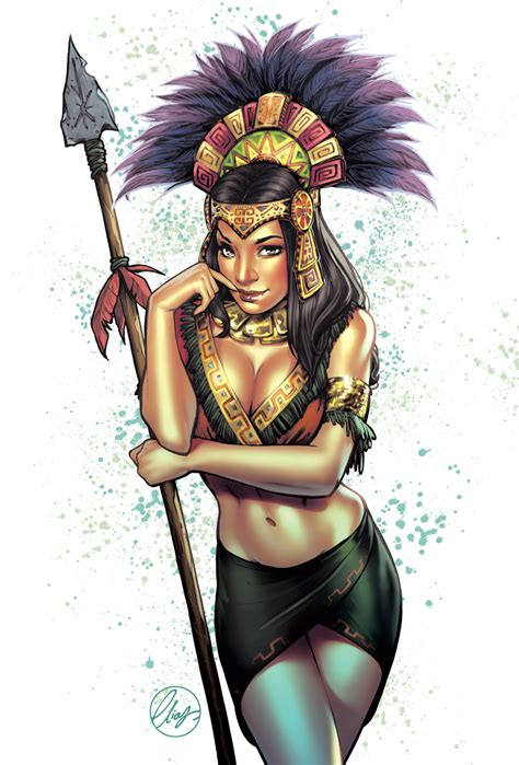 aztec woman warrior www pixshark com images galleries