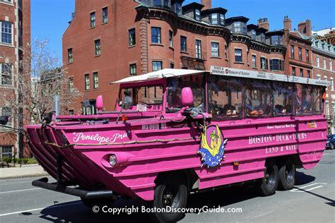 boston duck tours discounts  deals boston discovery