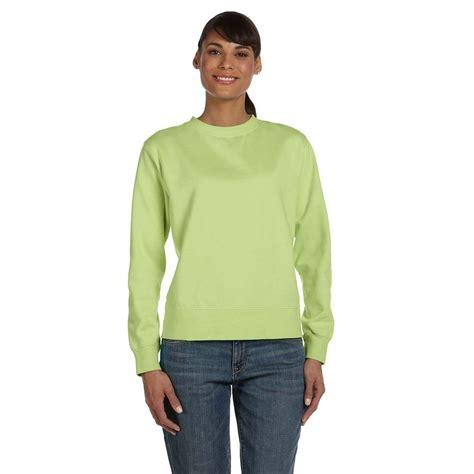 comfort colors crewneck sweatshirt comfort colors women s celedon 9 5 oz crewneck sweatshirt