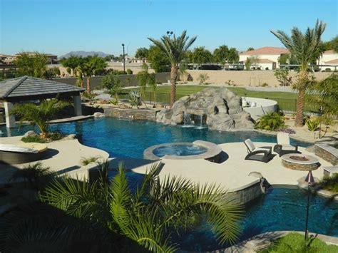 pool table supplies az lazy river pool swim up bar in arizona mediterranean