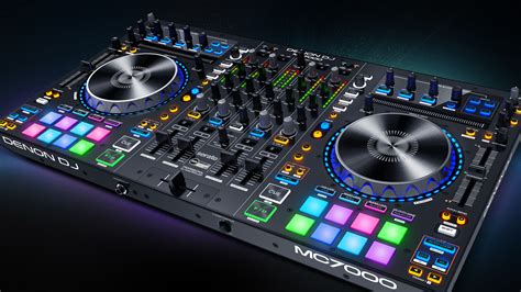 best dj console denon dj professional dj equipment