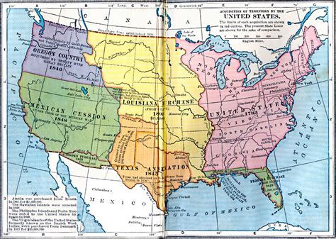 united states in 1783 map acquisition of territory by the united states