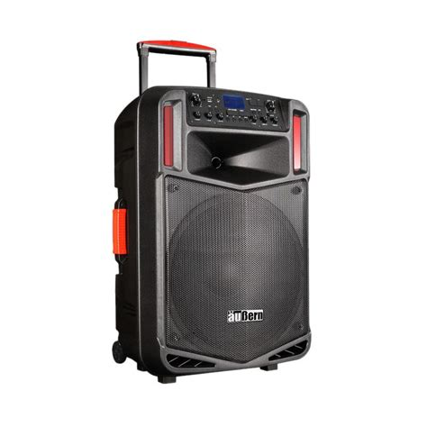 Sound System Portable Aubern Be 12cr With Wireless Mic speaker