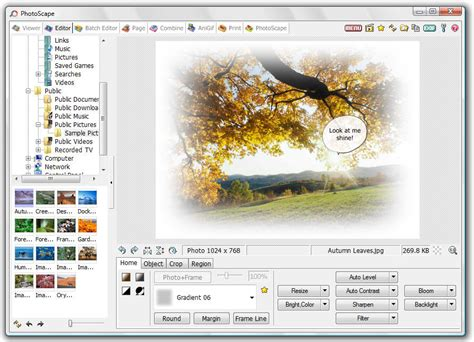 cybernotes photoscape  image editing effortless