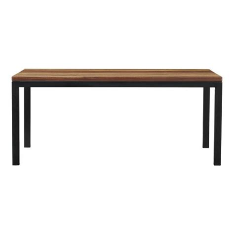 crate and barrel parsons dining table copy cat chic crate and barrel parsons reclaimed wood top