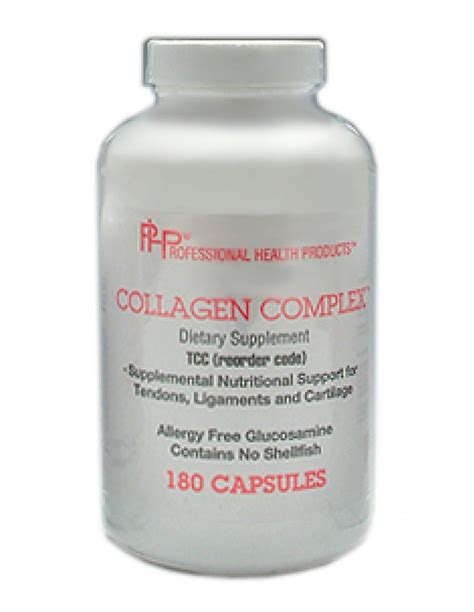 Collagen Complex Natures Health Collagen Complex By Professional Health Product 180 Capsules