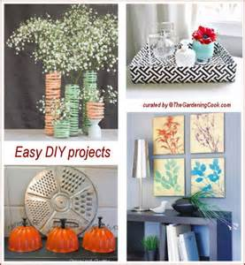 easy to make home decorations easy diy craft projects the gardening cook