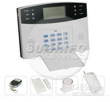 lcd home alarm system home shop security system home alarm