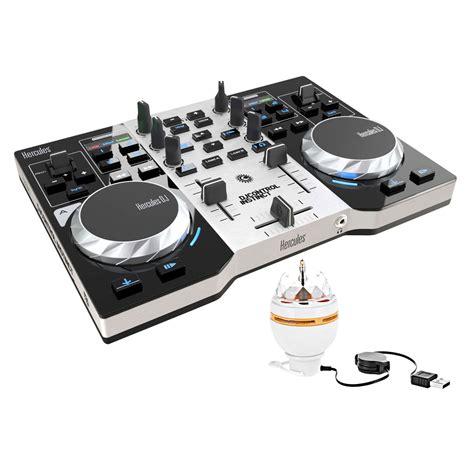 console hercules dj instinct hercules djcontrol instinct pack table de mixage
