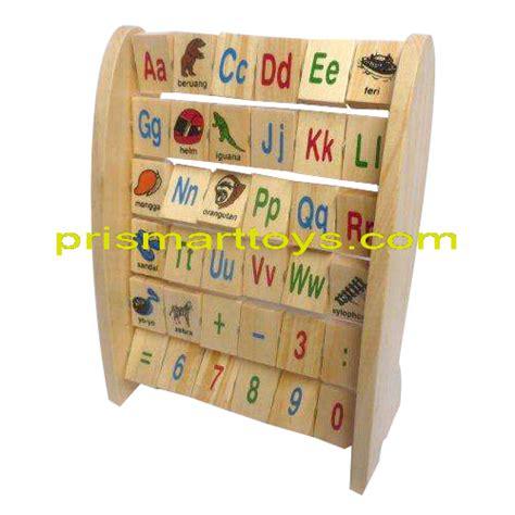 Alphabet Berdiri Indonesia Untuk Anak p r i s m a r t cv argacita solusindo prismart toys