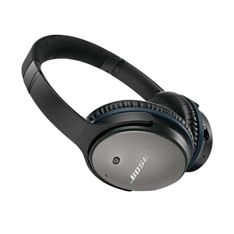 Pesanan Bosrue jual bose quietcomfort qc 25 black headphone