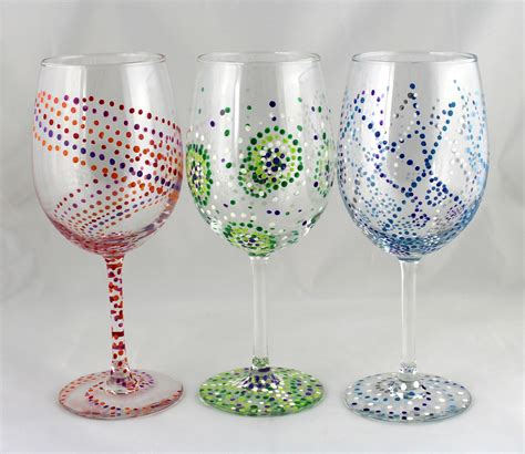 wine glass painting wine glass painting workshop adirondack coast wine trail