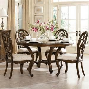 Traditional Dining Table And Chairs Dining Table American Drew Dining Table Set