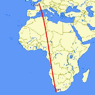 Cape Pari flights from cape town to