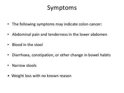 Blood In Stool Constipation by Cancer Of The Large Intestine Autosaved