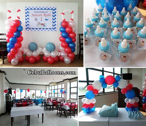 Nautical Themed Giveaways - nautical sailor cebu balloons and party supplies