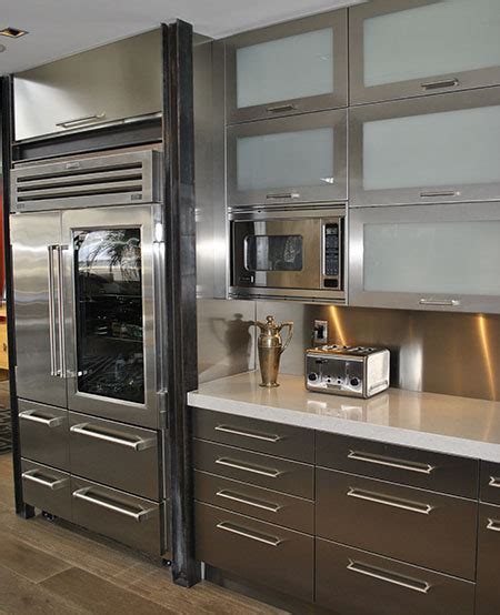 Stainless Steel Kitchen Cabinet Doors Stainless Steel Kitchen Cabinets Cabinet Doors And Countertops