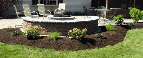Landscape Mulch Pictures Mulching Gallaher Landscaping