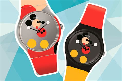 Swatch Cleo swatch just launched limited edition mickey mouse watches