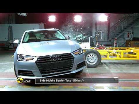 Audi A5 Crashtest by 2017 Audi A4 Driver Side Small Overlap Iihs Crash Test Doovi