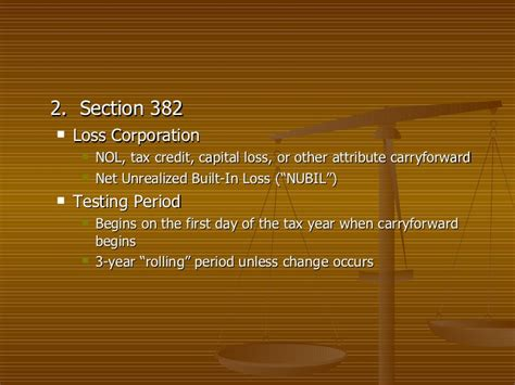 nol section 382 27th real estate institute seminar slide show powerpoint