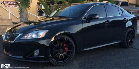 lexus is 250 custom black lexus is250 niche essen m147 wheels matte black