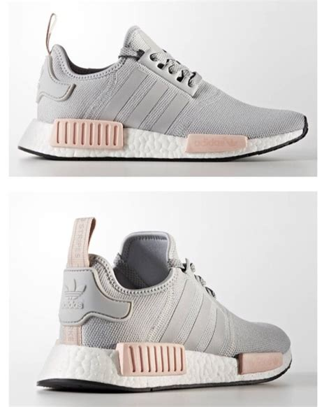 shoes adidas adidas nmd adidas nmd r1 pink grey pink sneakers model wanted wheretoget
