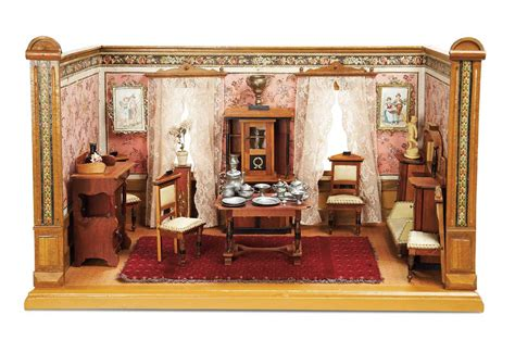 doll house rooms other people s lives 231 a charming petite german doll house room by christian hacker