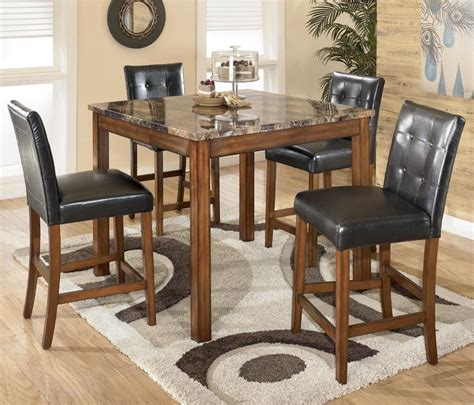 bar stool dining room sets signature design by theo d158 233 5 square