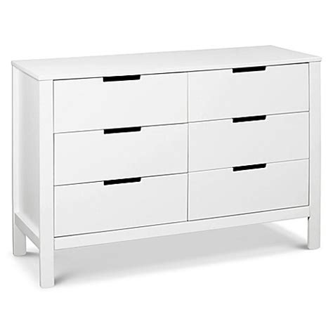 davinci 6 drawer dresser white carter s 174 by davinci 174 colby 6 drawer dresser in white