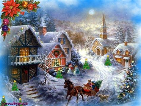 wallpaper christmas town christmas town wallpaper pc wallpapers that are