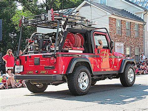 jeep brush truck leesburg vol fire company jeep wrangler fire truck