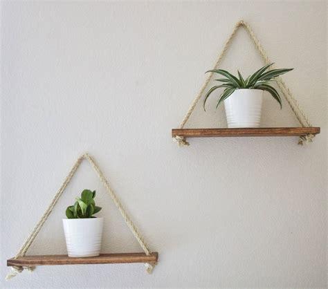 hanging shelves hanging wall shelf rope wall shelf floating