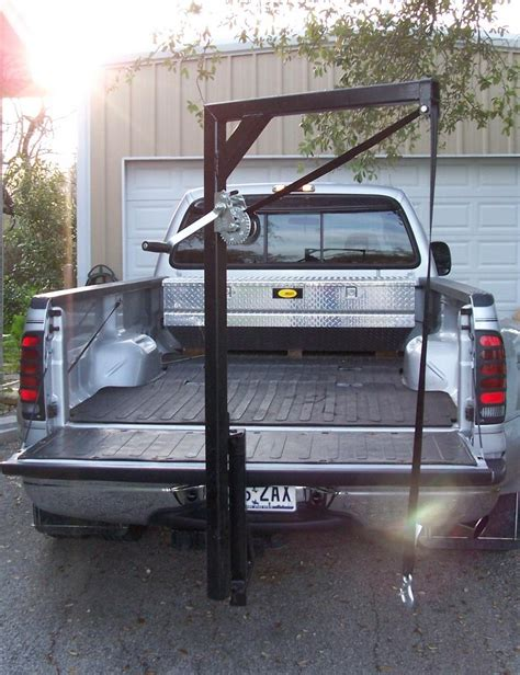truck bed crane anyone ever have a small crane in their bed ford truck
