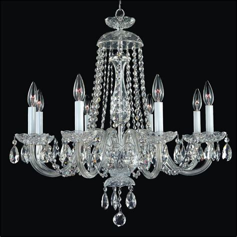 crystal chandeliers for dining room crystal dining room chandelier crystal by candlelight
