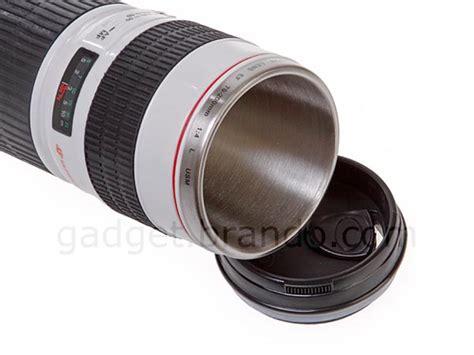 canon ef  mm fl usm lens mug gadgetsin