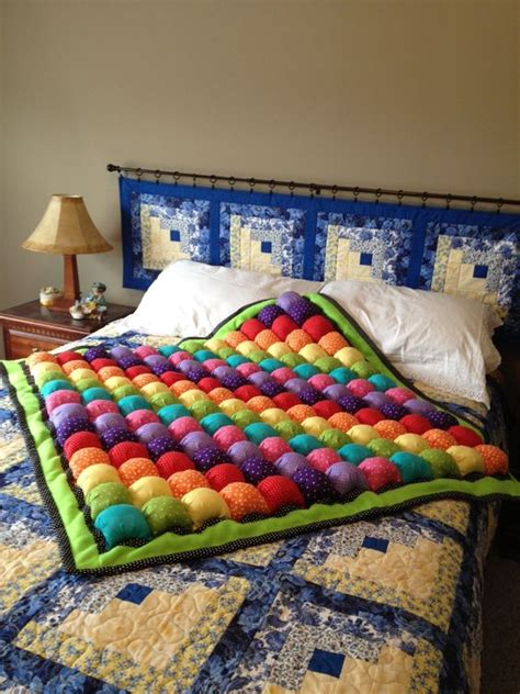 quilted headboard quilt and color patterns on