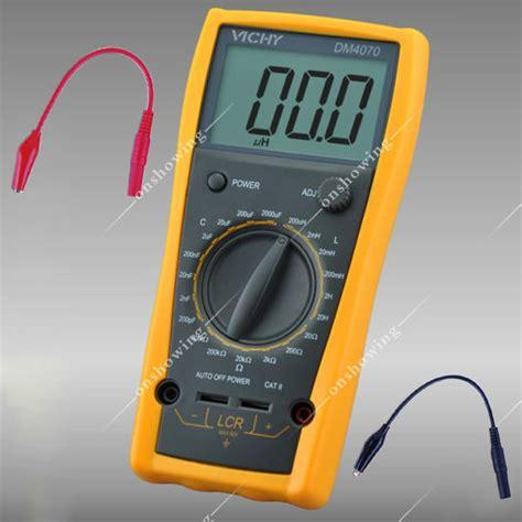 inductance meter fluke pro dm4070 digital multimeter lcr inductance resistance capacitance meter b0207 in multimeters