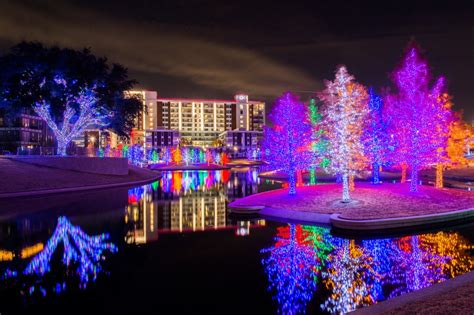 christmas lights from dallas on the ground things to do for in dallas kanigas