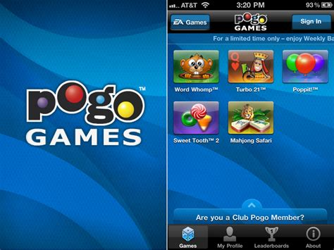 pogo scrabble ea brings quot 5 great pogo in 1 free app quot to the iphone