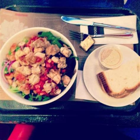 Aroma Chicken Cocktail warm grilled chicken salad and bread picture of aroma espresso bar new york city tripadvisor