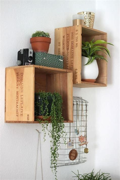 25 best ideas about wine box shelves on