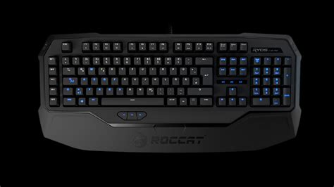 Keyboard Gaming Komputer Roccat Goes Mechanical With The Ryos Gaming Keyboard Custom Pc Review