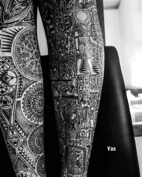 tribal egyptian tattoos supremerulerofsound yas tribaltattoo