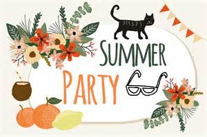 Summer Party summer party by mia charro thehungryjpeg com